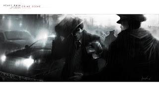 Heavy Rain Set Design: Crime Scene