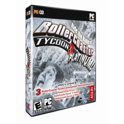 rollercoaster tycoon 4. RollerCoaster Tycoon 3