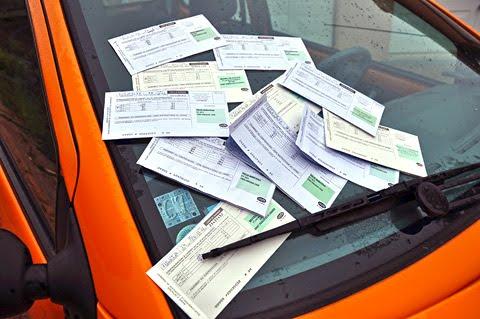 Une année de circulations et d'arrêts – toujours intempestifs – dans Périgueux s'élève à plus de 337 € . Voici un conducteur citoyen qui participe au bon fonctionnement financier de la société publique ! Photo Pascal SERRE