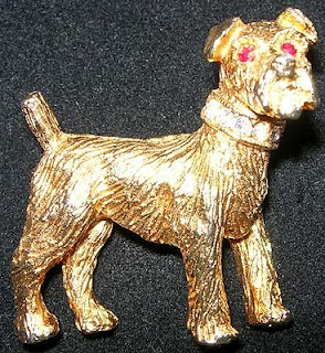 Nemo terrier pin