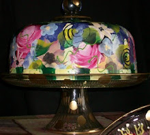 NEW Floral cakeplate!