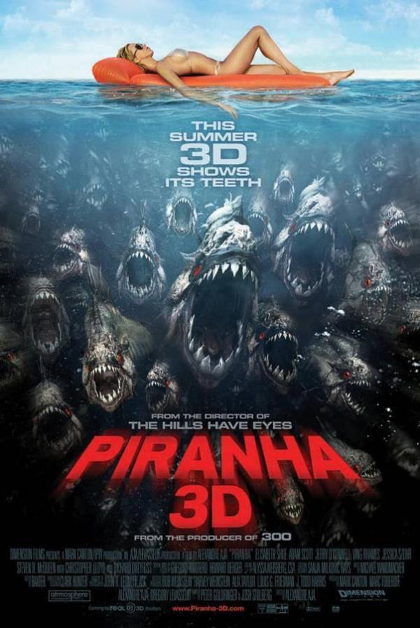 Piranha (2010) affiche