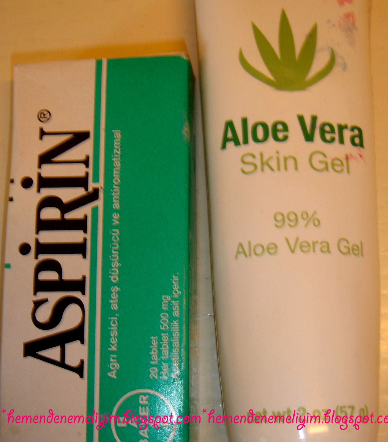 Aloe Vera Maskesi Sivilce İçin Nasıl Kullanılır