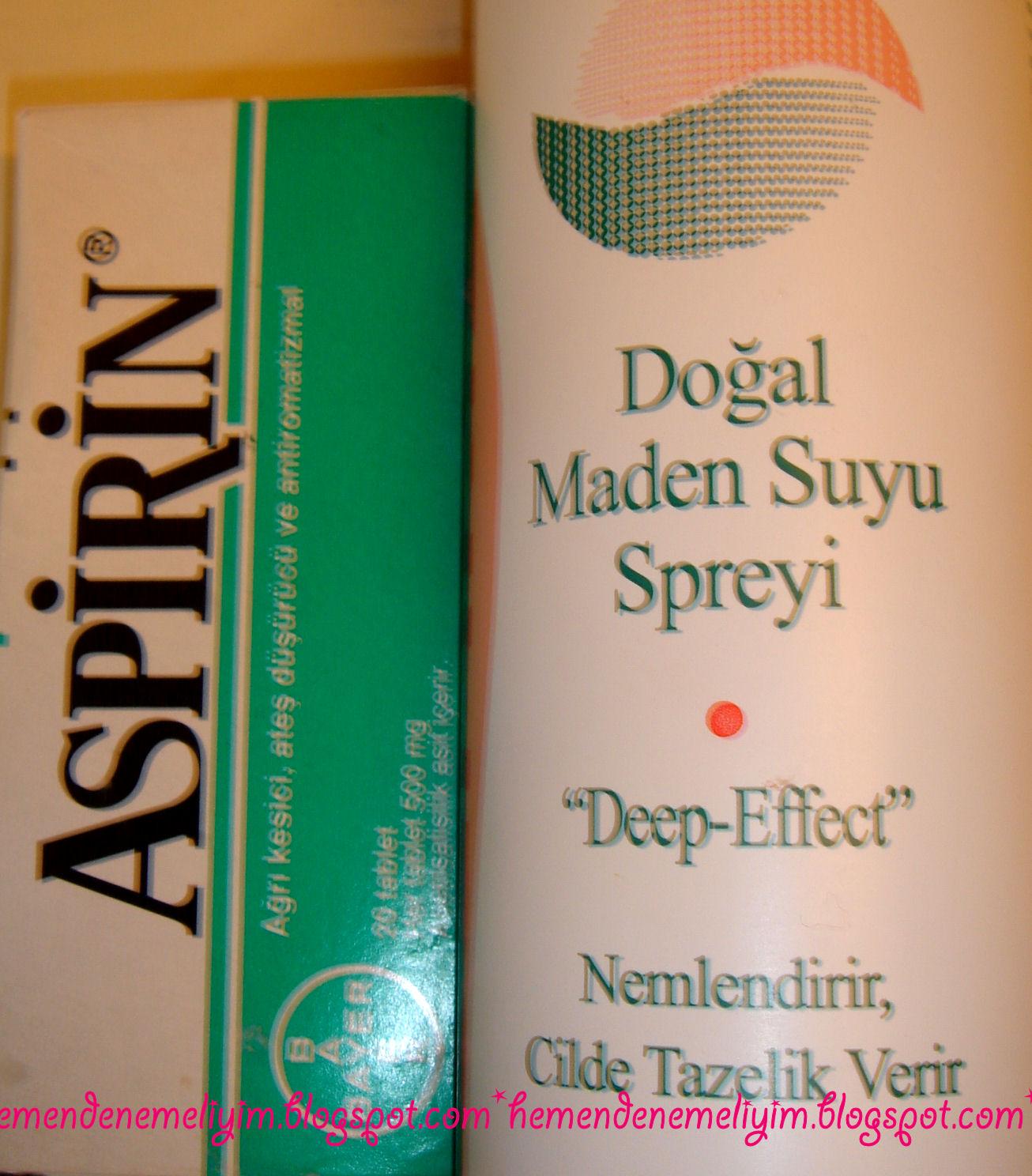 Aspirinli Saç Maskesi
