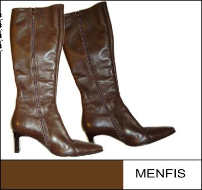 botas de couro femininas