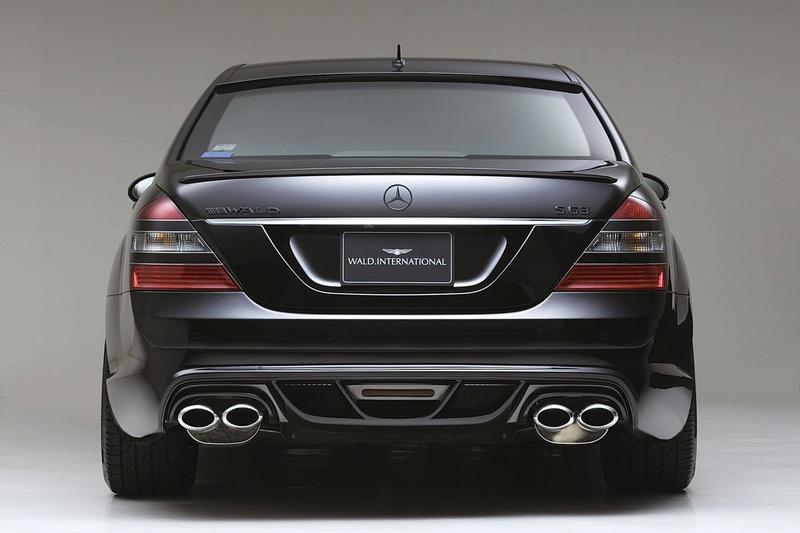 2007 Wald Mercedes Benz S Class W220. The S-Class Mercedes has