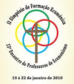 LOGOTIPO DO II SIMPÓSIO DE FORMAÇÃO ECUMÊNICA