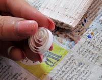 @suzy6281 #NUO2012 Paintbrush Santas quilling 2