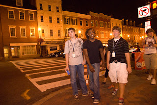 The team from Picayune, Mississippi explores Georgetown.