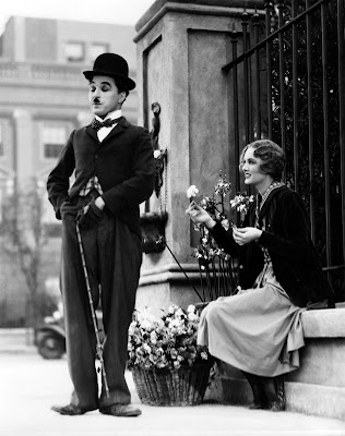 city lights. Chaplin in City Lights