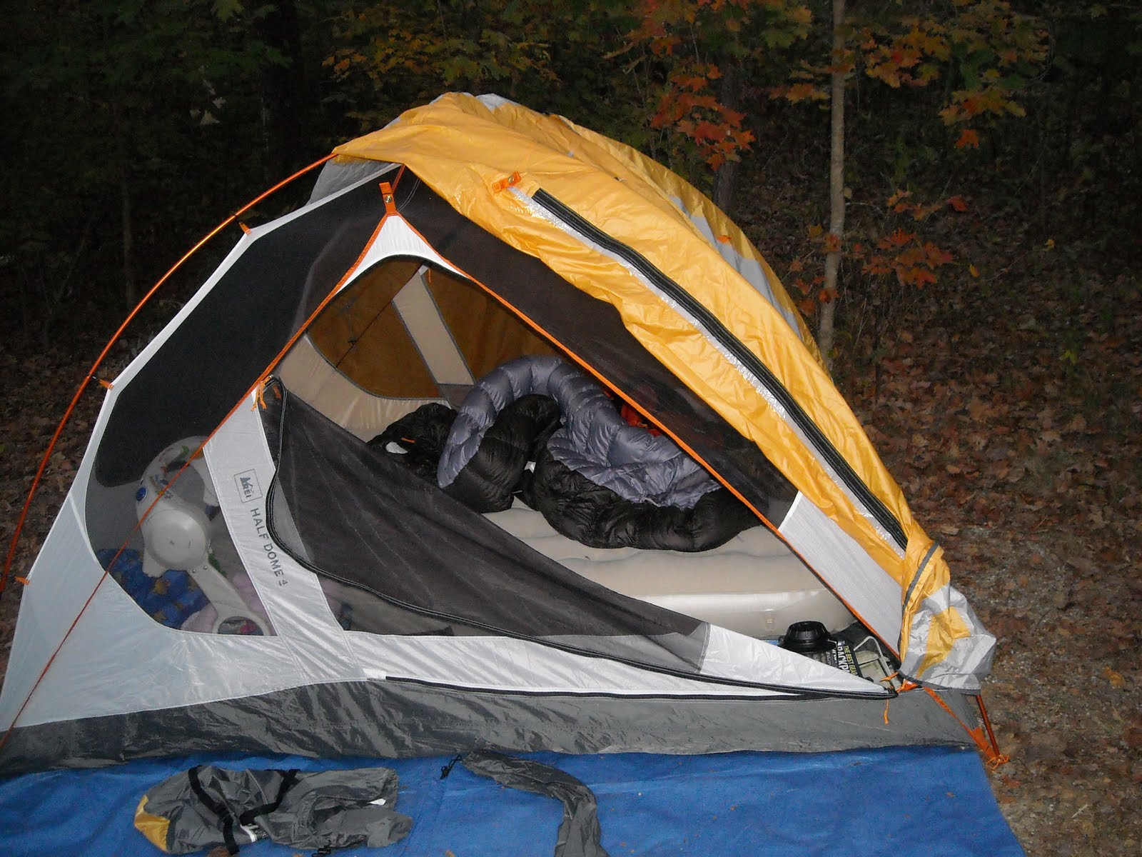 REI Half-Dome 4 Person Tent Review & The Ohio Hiker: REI Half-Dome 4 Person Tent Review