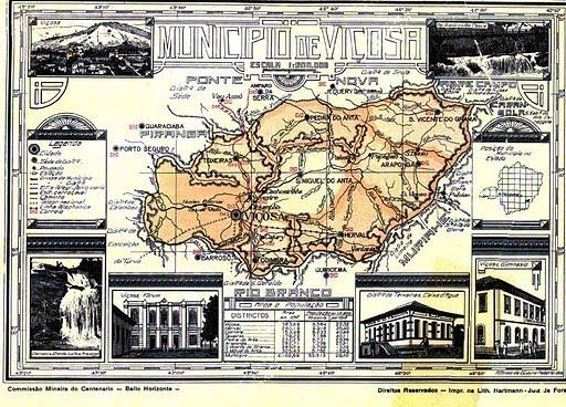 Antigo mapa