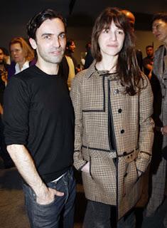 Charlotte Gainsbourg et Nicolas Ghesquière