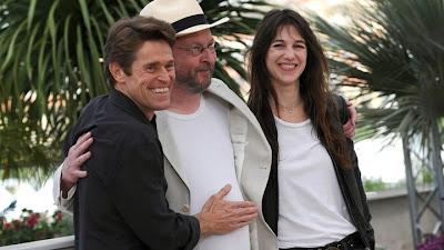 Charlotte Gainsbourg, Lars Von Trier, Willem Dafoe à Cannes