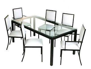 fresh comedor mesa de vidrio
