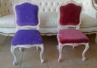 Definiciones estilos luis xv luisxvi rococo barroco - Silla estilo luis xv ...