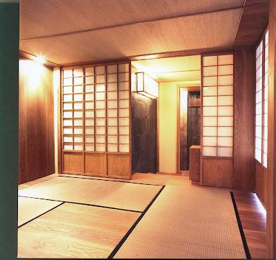Cuarto de te estilo japones decoractual dise o y - Puertas correderas estilo japones ...