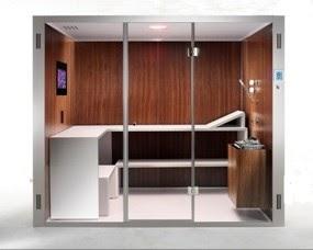 Saunas y ba os turcos profesional cabinas de vapor decoractual dise o y decoraci n - Sauna finlandesa o bano turco ...