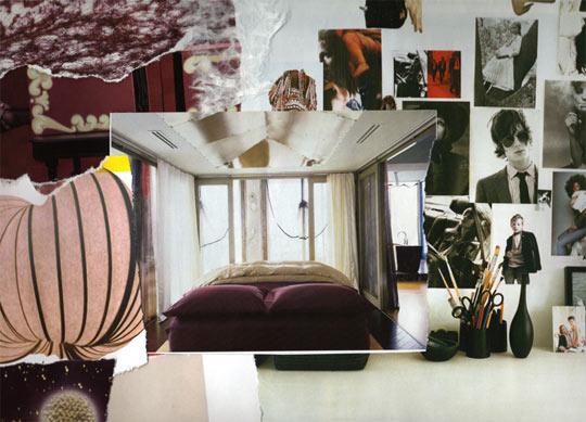 Collage estilo vintage para dormitorio deco dormitorios Recamaras estilo vintage