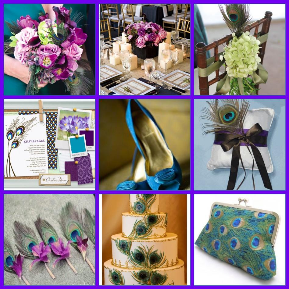 Wedding Ideas: Peacock Wedding Theme!