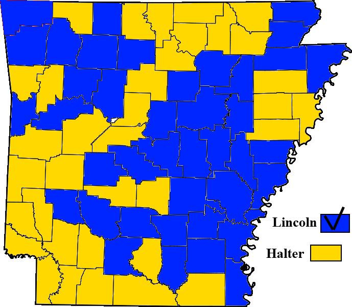 Political Maps Blog August - Political map of arkansas