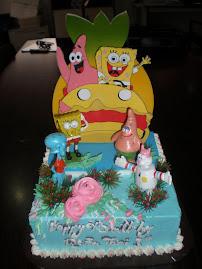 Cake Ulang Tahun untuk anak-anak.