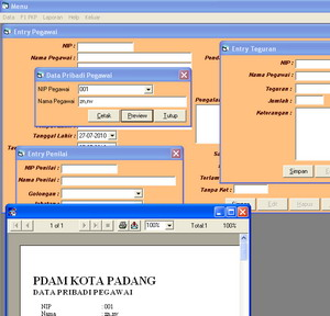 Riyuniza: Download Source Code Visual Basic Penilaian Kinerja Pegawai