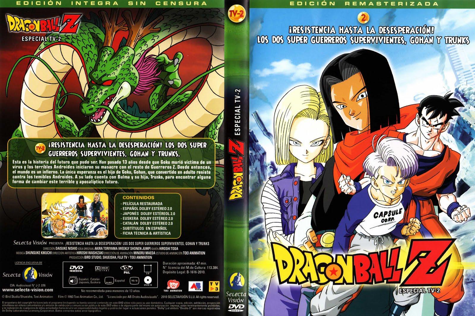 Caratulas Peliculas Y Ovas Dragon Ball - Z - GT