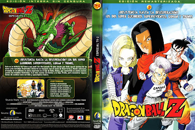 Caratulas Dragon Ball: DRAGON BALL Z LAS PELICULAS SELECTA VISION Vol