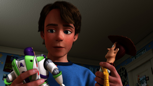 Andy Toy Story 3 : The hidden story behind toy part time critic