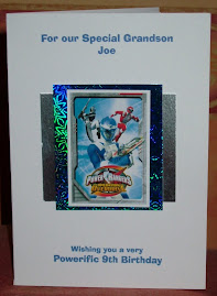 Joe's 9th b'day card