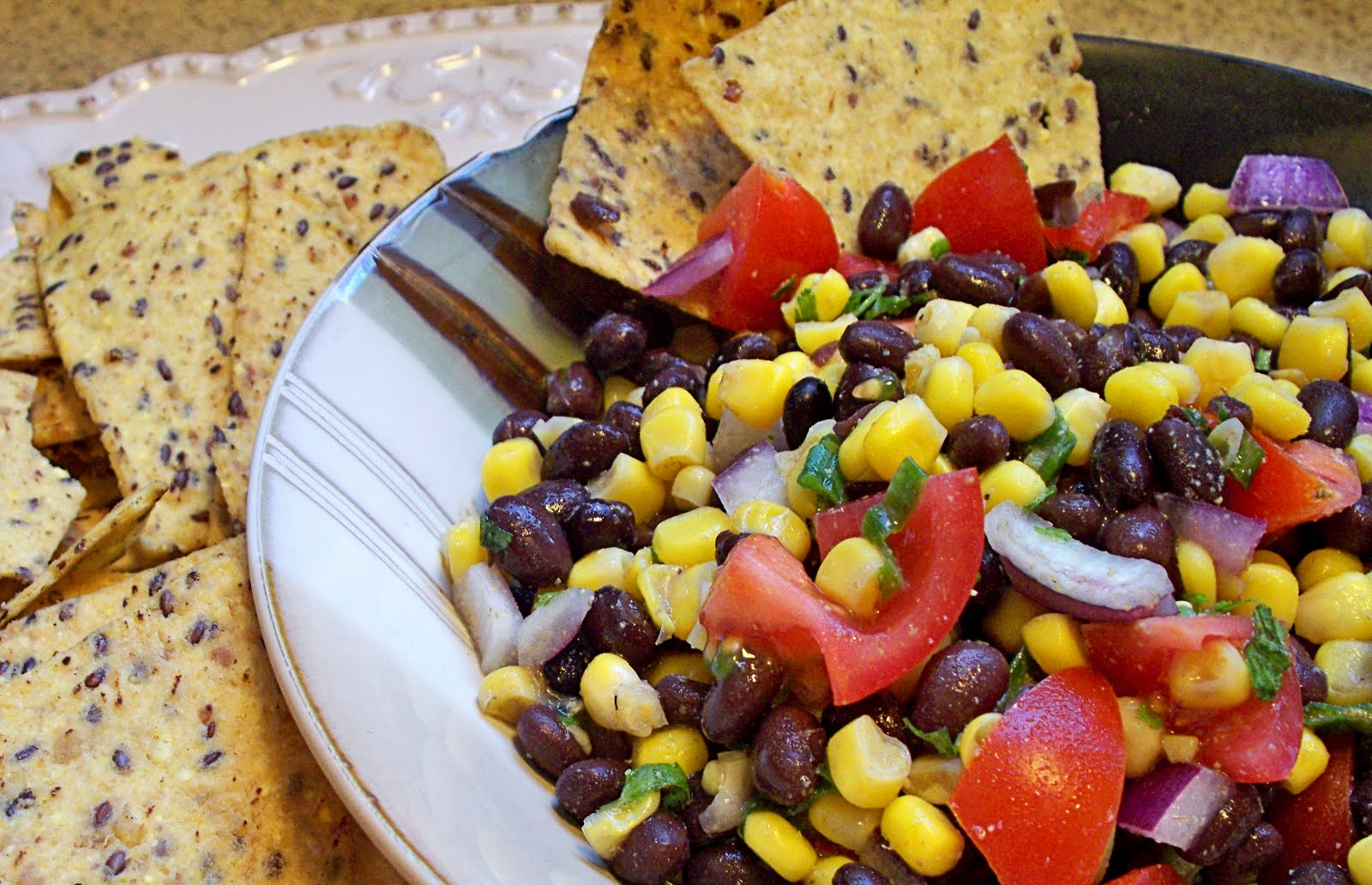 Hear Exercise Will Kill You: Spicy Black Bean and Corn Salsa