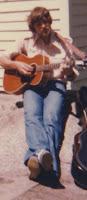Daniel Playing Guitar ... 1978