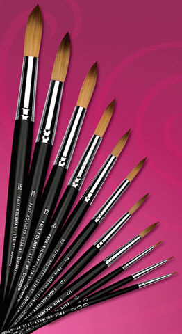 Dynasty blog faux kolinsky by dynasty brush series for Faux painting brushes
