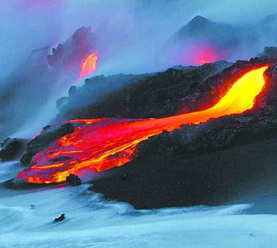 Eruptions Of Kilauea. volcanos eruption Kilauea