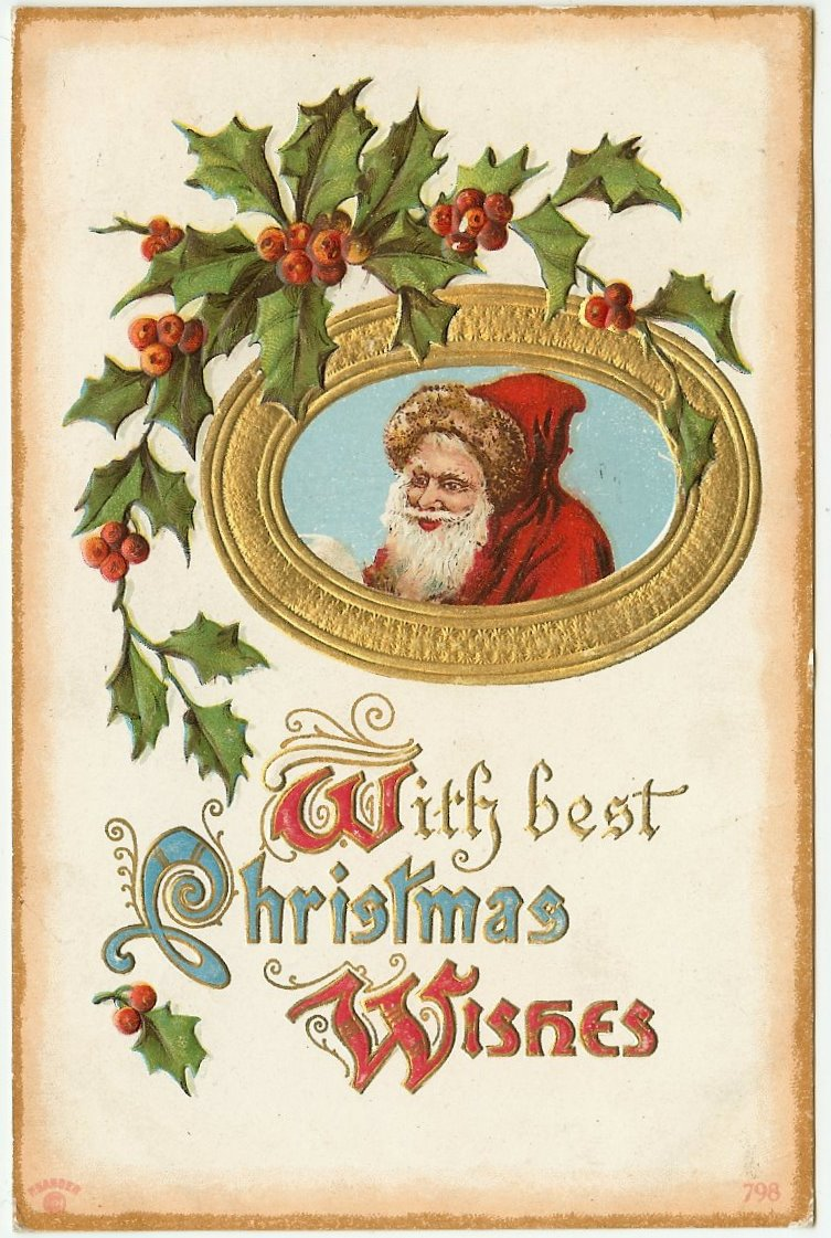 Old Christmas Postcards Free To Download Lark Amp Lola
