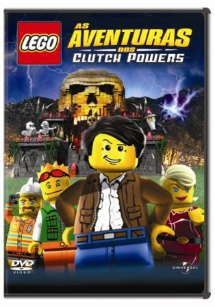 Filme Poster Lego: As Aventuras dos Clutch Powers DVDRip RMVB Dublado