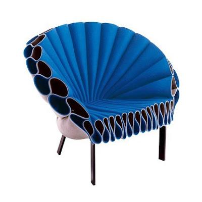 Mavi koltuk 2 ev dekorasyonunda mavi dokunuşlar