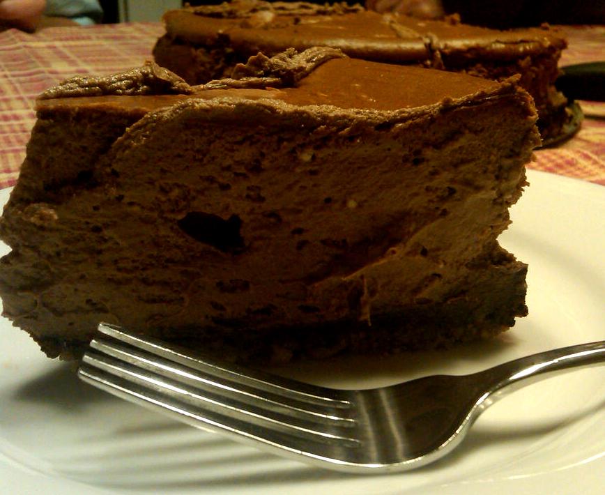 thebakedbeen: {low-carb} chocolate mocha cheesecake
