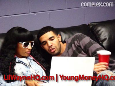pics of nicki minaj and drake