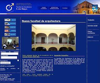 Página WEB Facultad