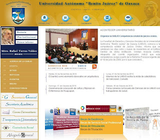 Página WEB UABJO