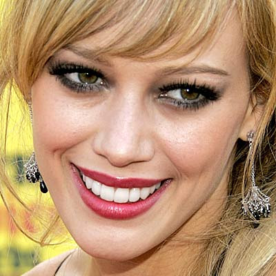 hilary duff new teeth