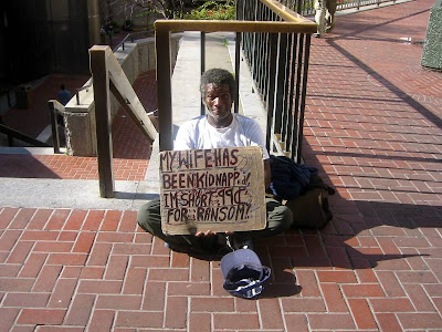 funny homeless signs. Funny Homeless Beggar Signs