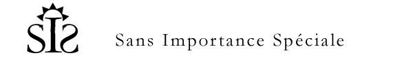 Sans Importance Spéciale