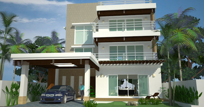3 STOREYS APARTMENT CONCEPT