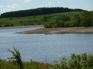 Stocks Reservoir - looking a bit low