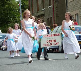 Retiring Longridge Field Day Queen Pippa Beardsley