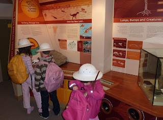 Young explorers in the museum