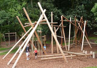 Wooden playframe